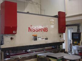 NCプレスブレーキ(60ton) 日清紡製 NSB160-3100